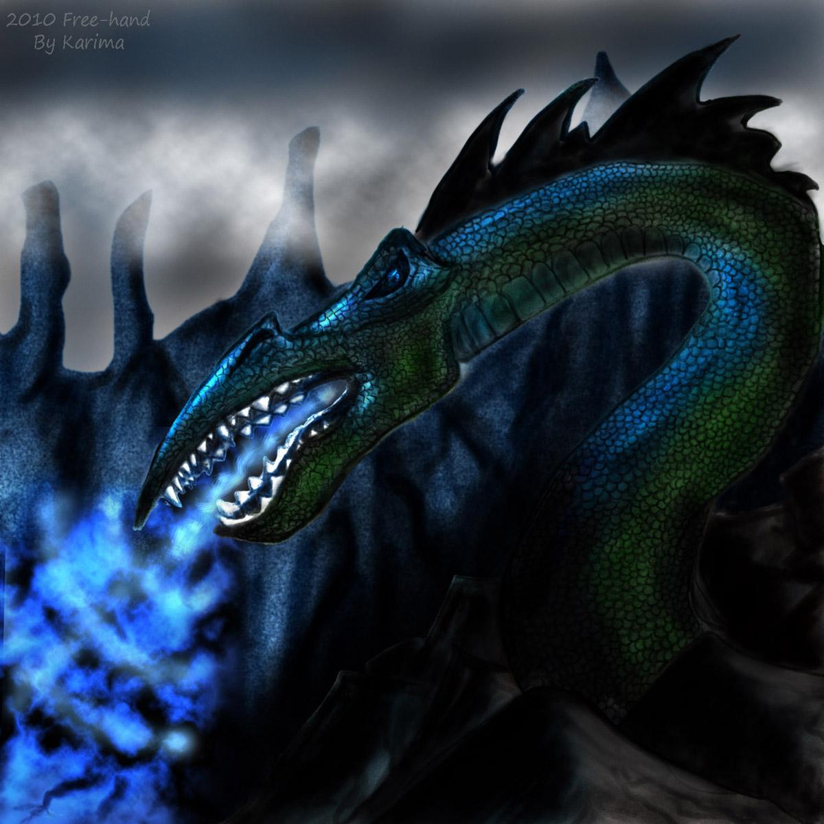 A Dragon by Karima